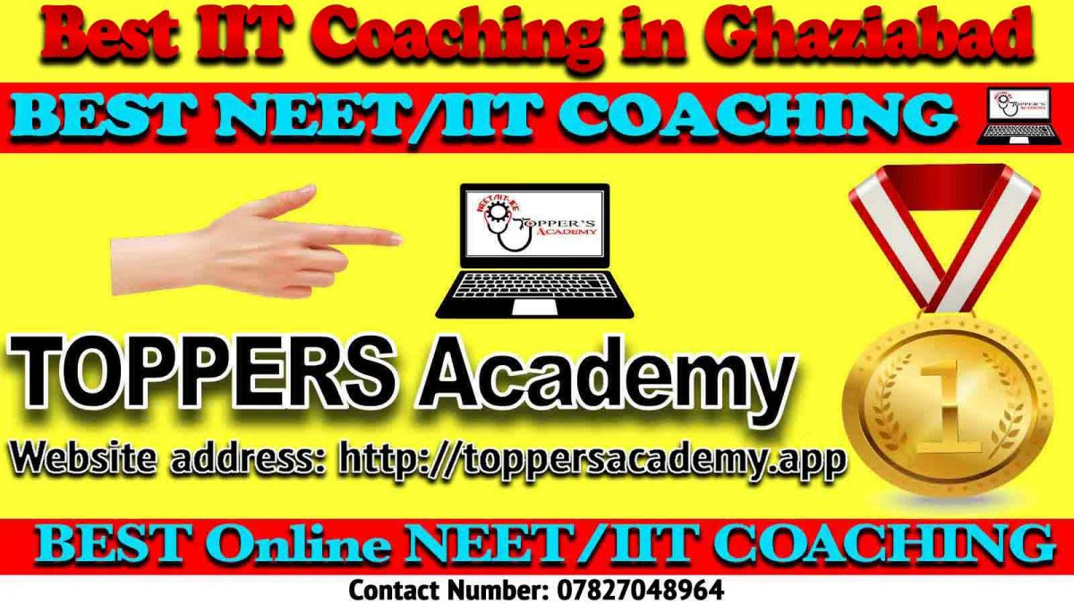 Best IIT JEE Coaching in Ghaziabad