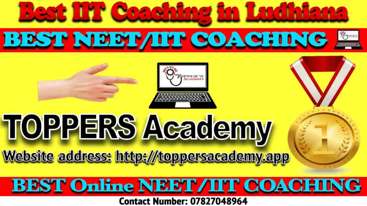 Top IIT JEE Coaching in Ludhiana