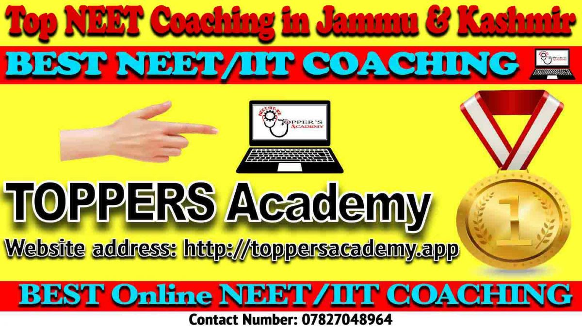 Best NEET Coaching in Jammu and Kashmir