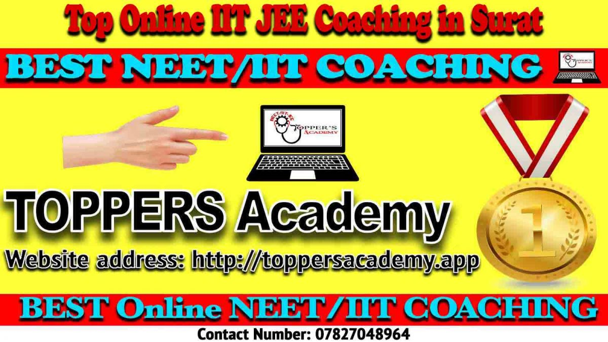 Best Online IIT JEE Coaching in Surat