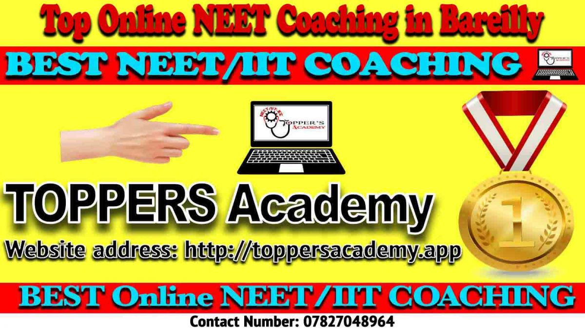 Best Online NEET Coaching in Bareilly