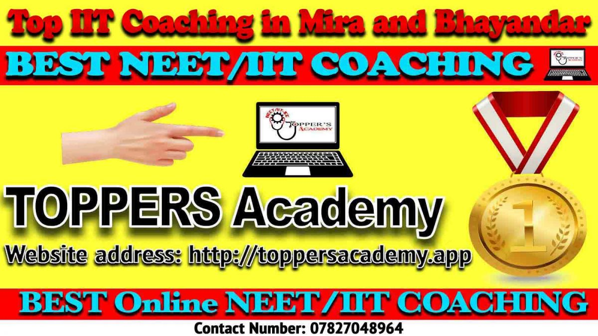 Top IIT JEE Coaching in Mira and Bhayandar