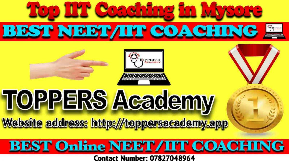 Top IIT JEE Coaching in Mysore