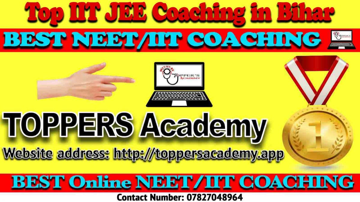 Top IIT JEE Coaching in Bihar