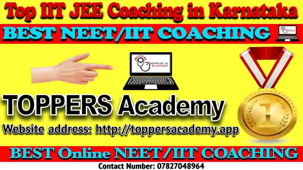 Top IIT JEE Coaching in Karnataka