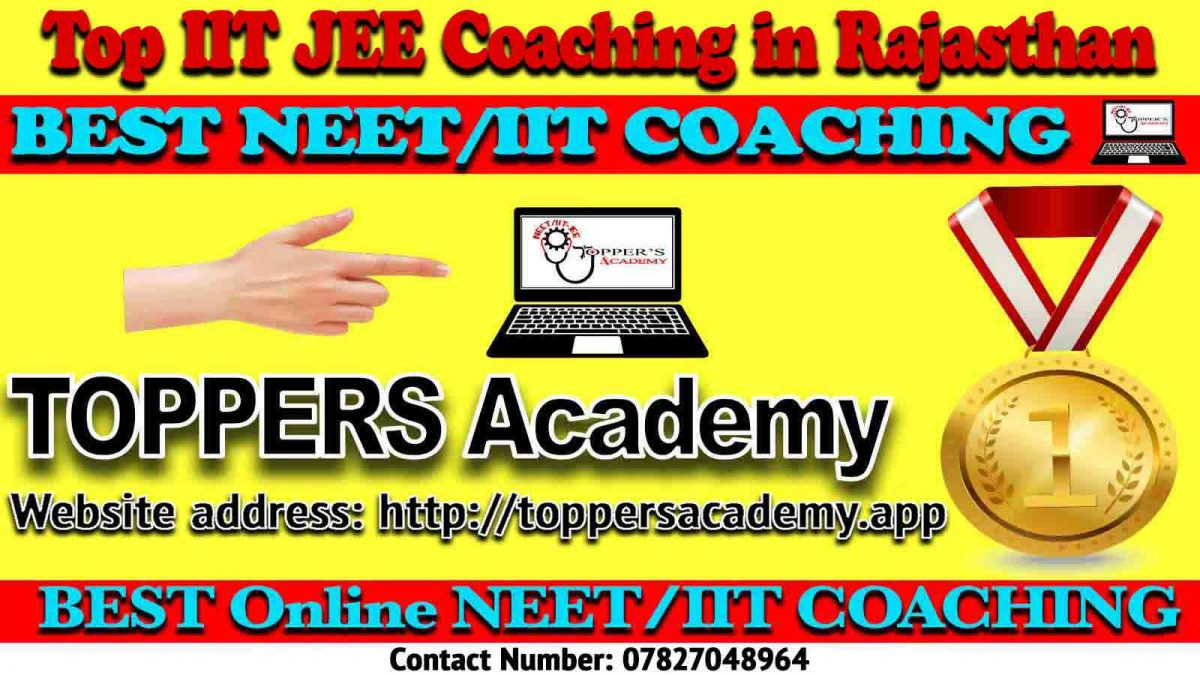 Top IIT JEE Coaching in Rajasthan