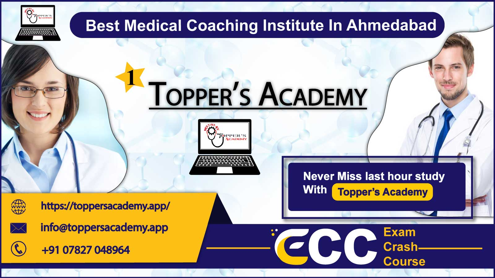 Topper Academy NEET Coaching In Ahmedabad