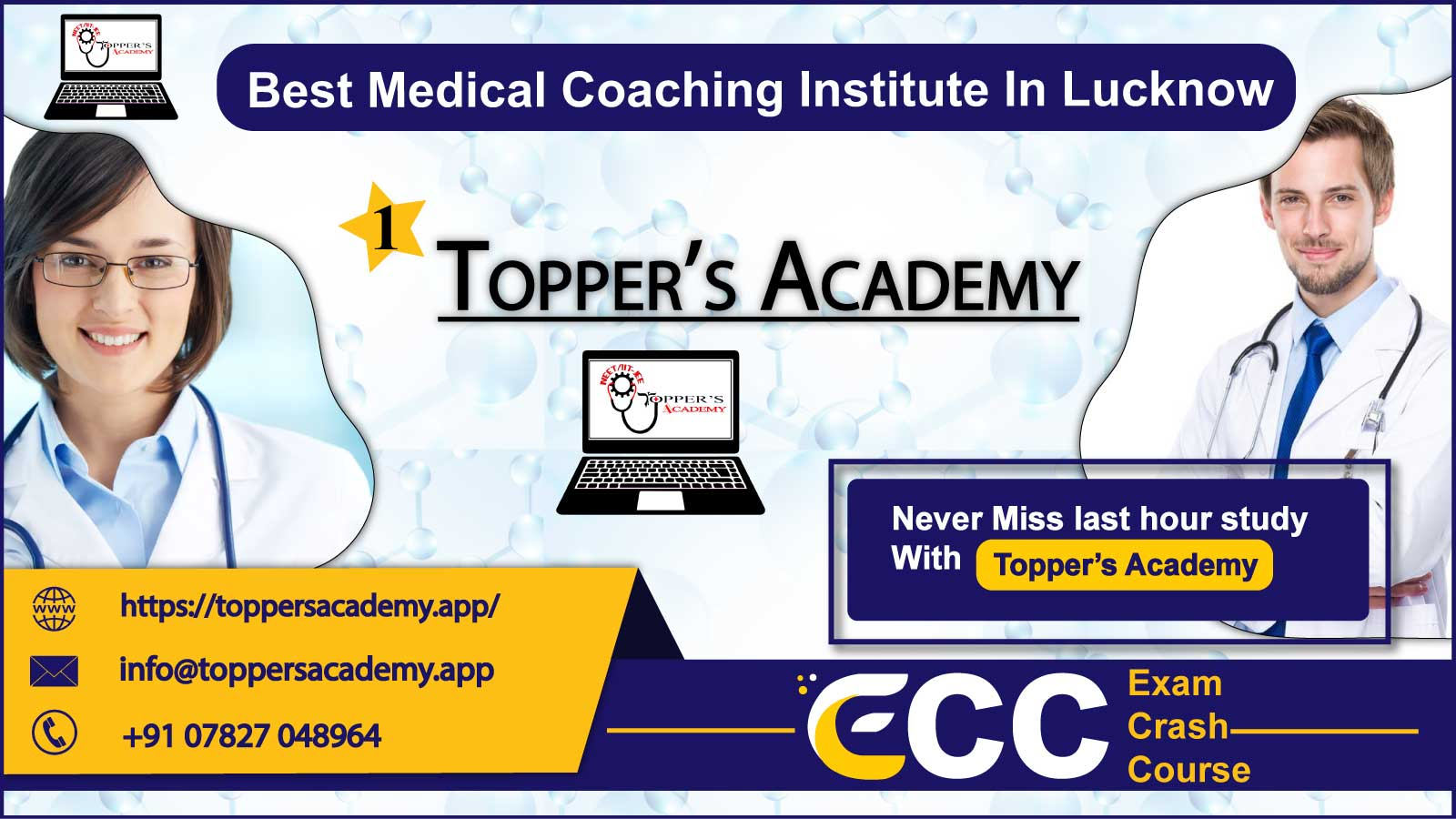 Topper Academy NEET Coaching In Lucknow