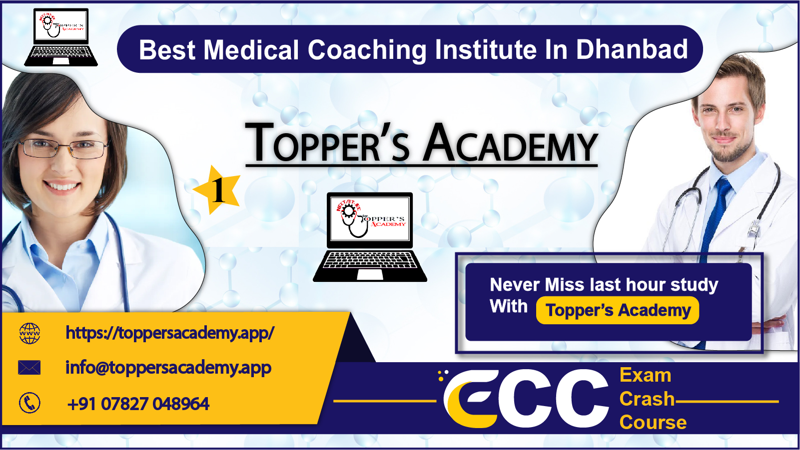 Topper Academy NEET Coaching In Dhanbad