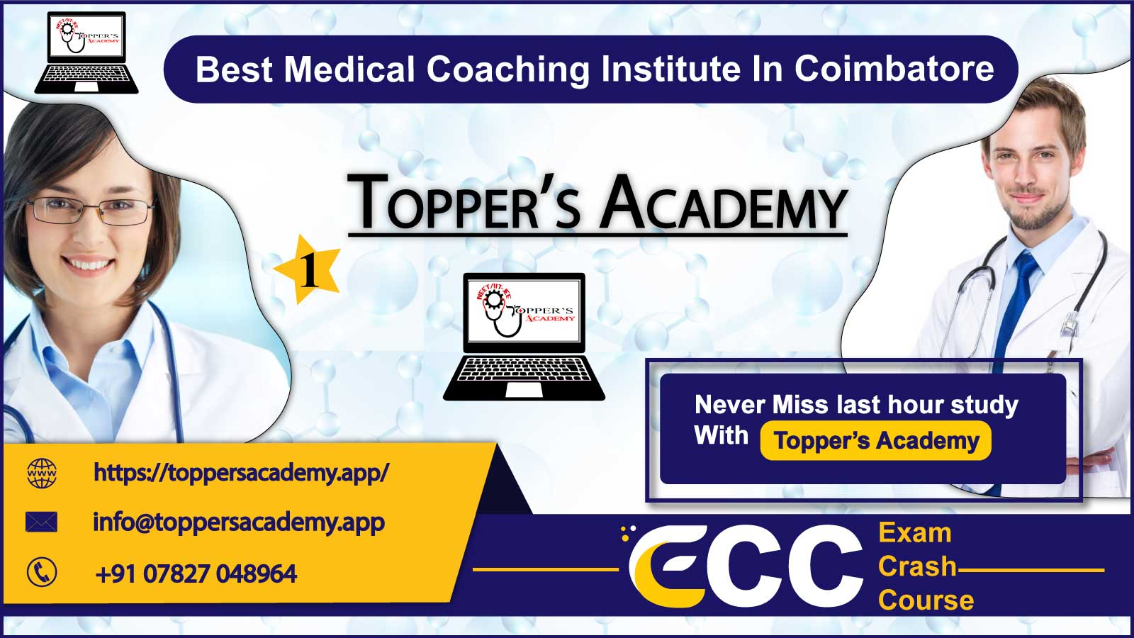 Toppers Academy NEET Coaching in Coimbatore