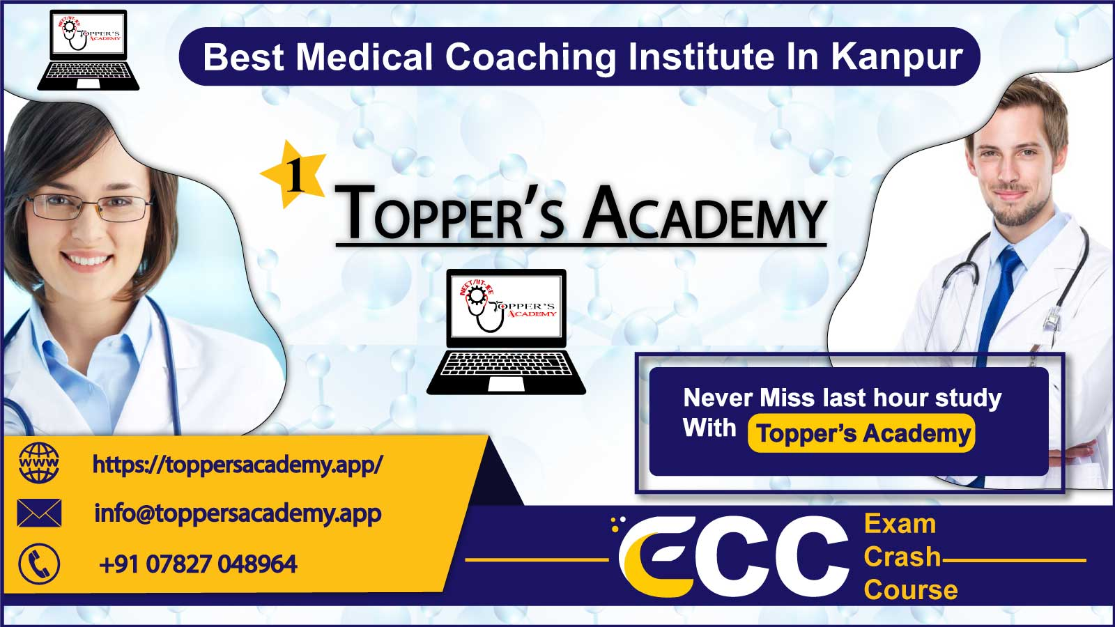 Topper Academy NEET Coaching In Kanpur