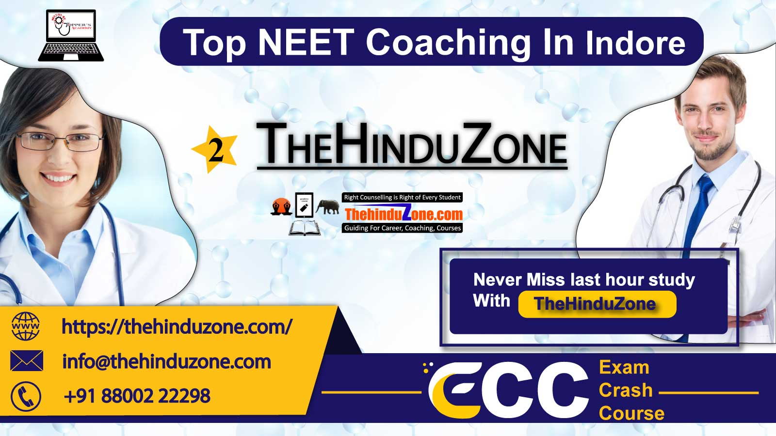 Thehinduzone NEET Coaching In In Indore