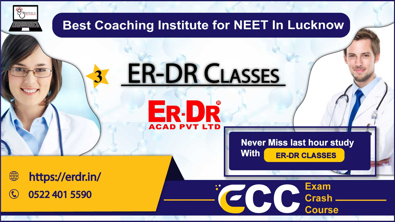ER-DR NEET Classes in Lucknow