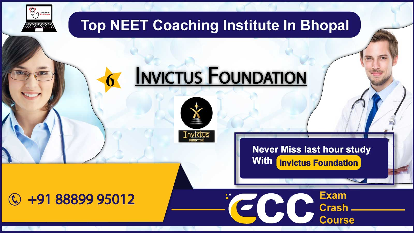 Invictus Foundation NEET Coaching In Bhopal