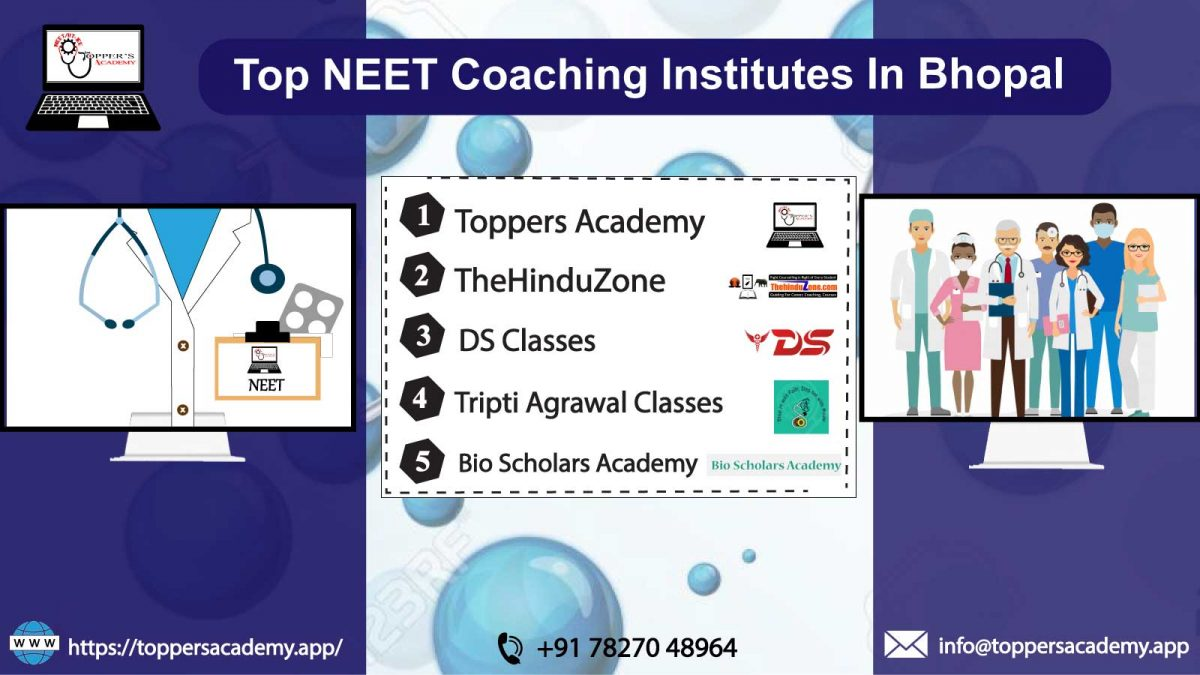List of the top NEET Coaching In Bhopal