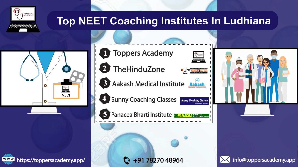 List OF The Top NEET Coaching Institutes In Ludhiana