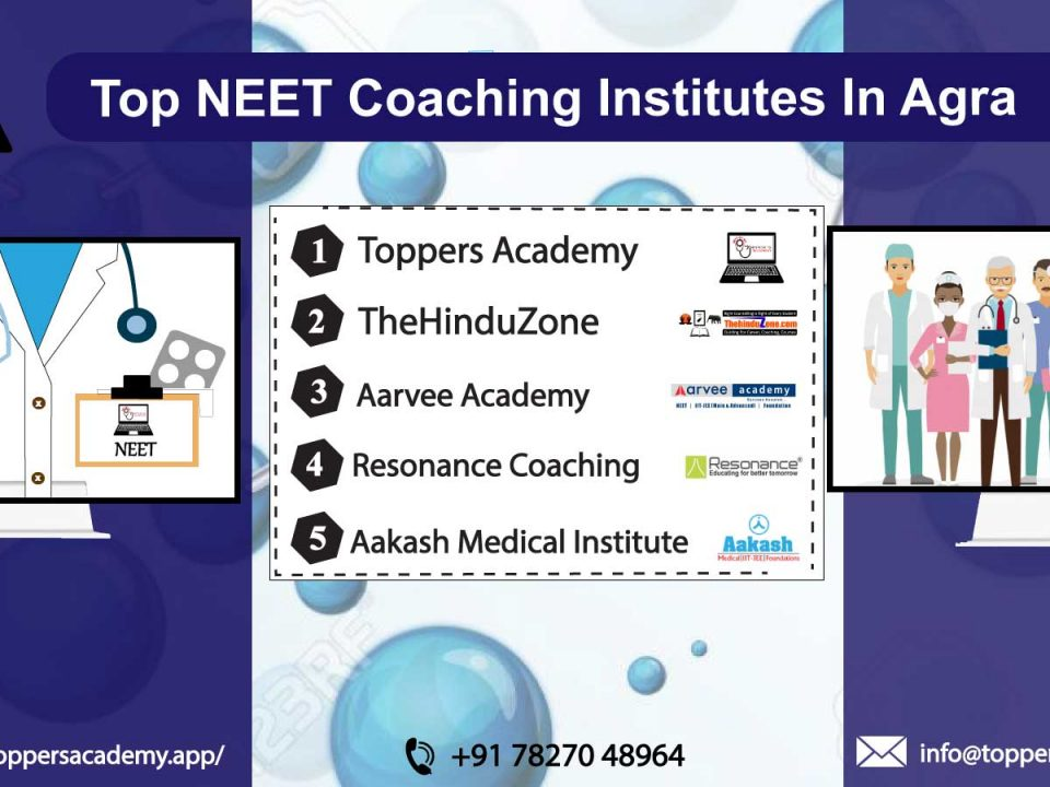 list of the top NEET Coaching In Agra