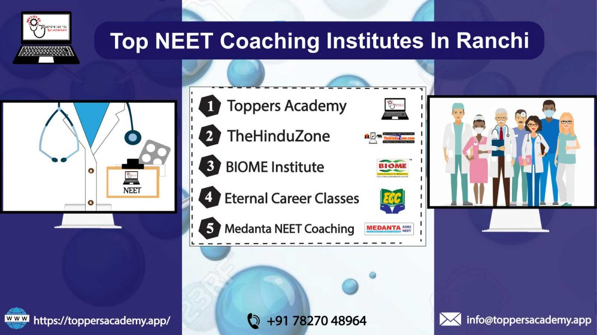 List of the best NEET Coaching In Ranchi