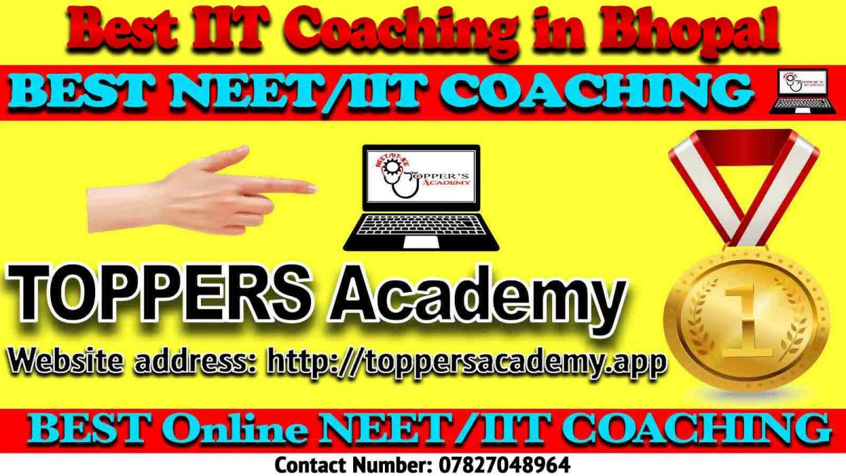 Best IIT JEE Coaching in Bhopal