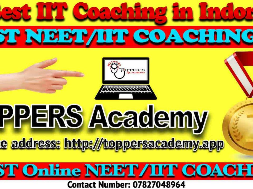 Best IIT JEE Coaching in Indore