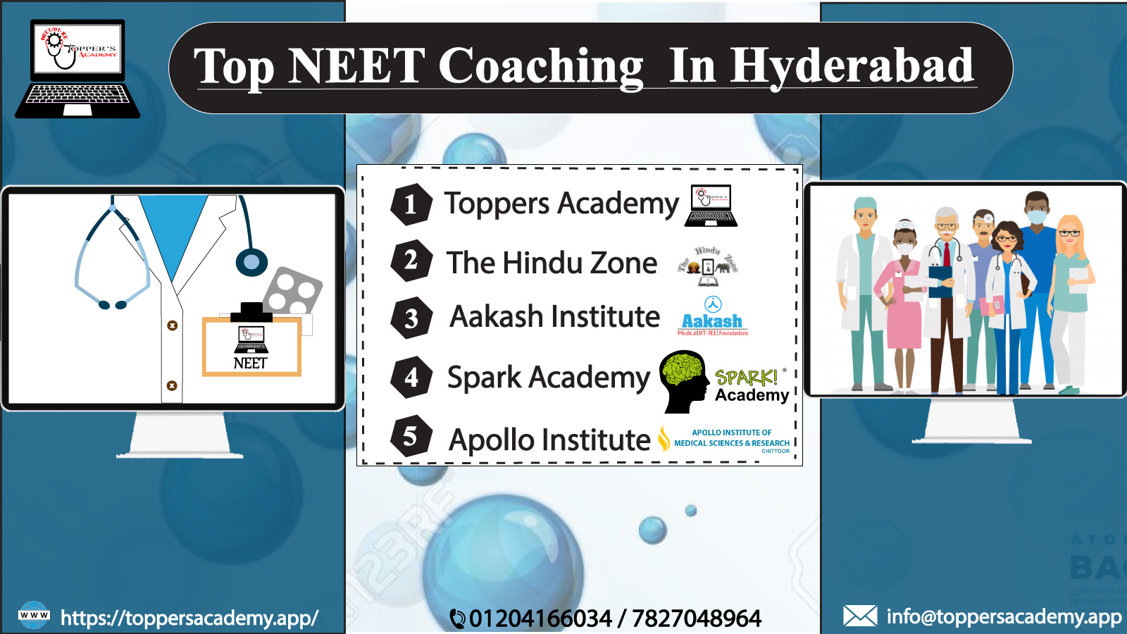 Best 10 NEET Coaching Classes For Medical Exams In Hyderabad