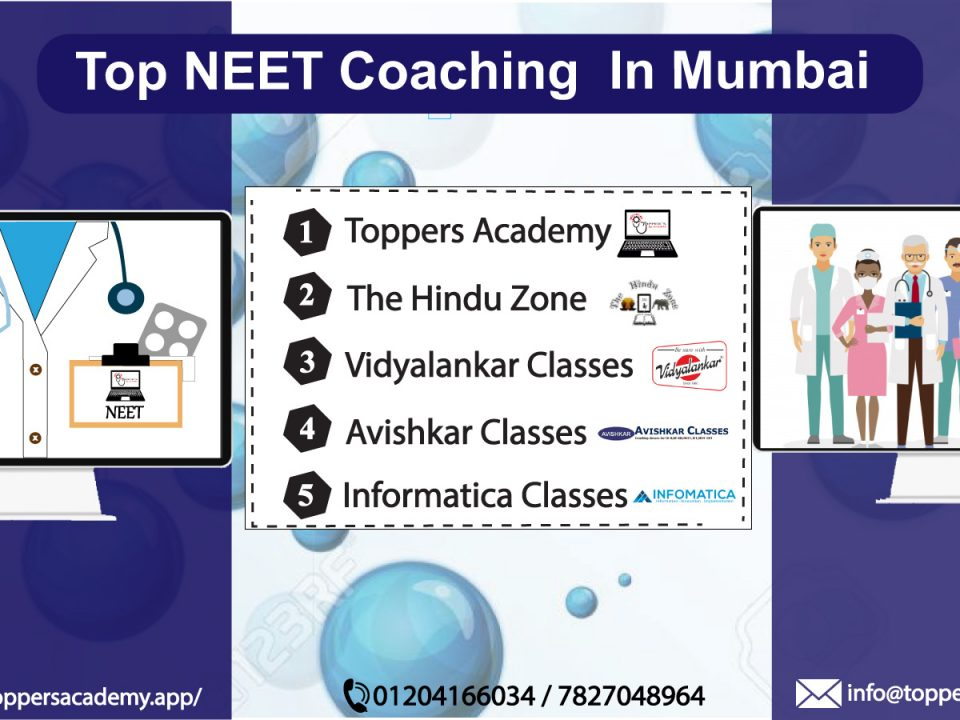 Top neet coaching classes in mumbai