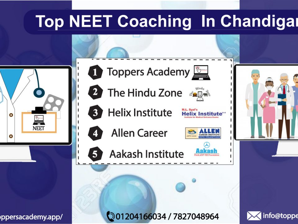 Top neet coaching centres in chandigarh