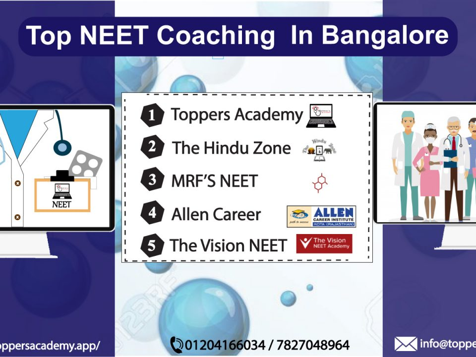 Best coaching institute for neet in bangalore