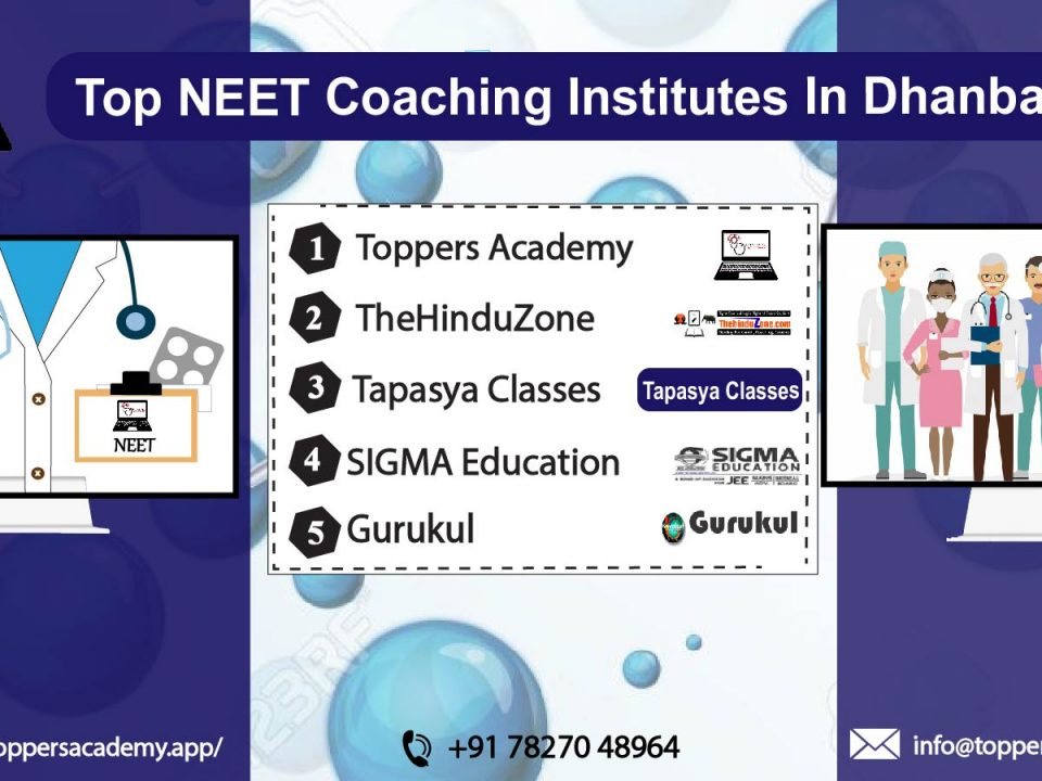 List of the top Neet Coaching In Dhanbad