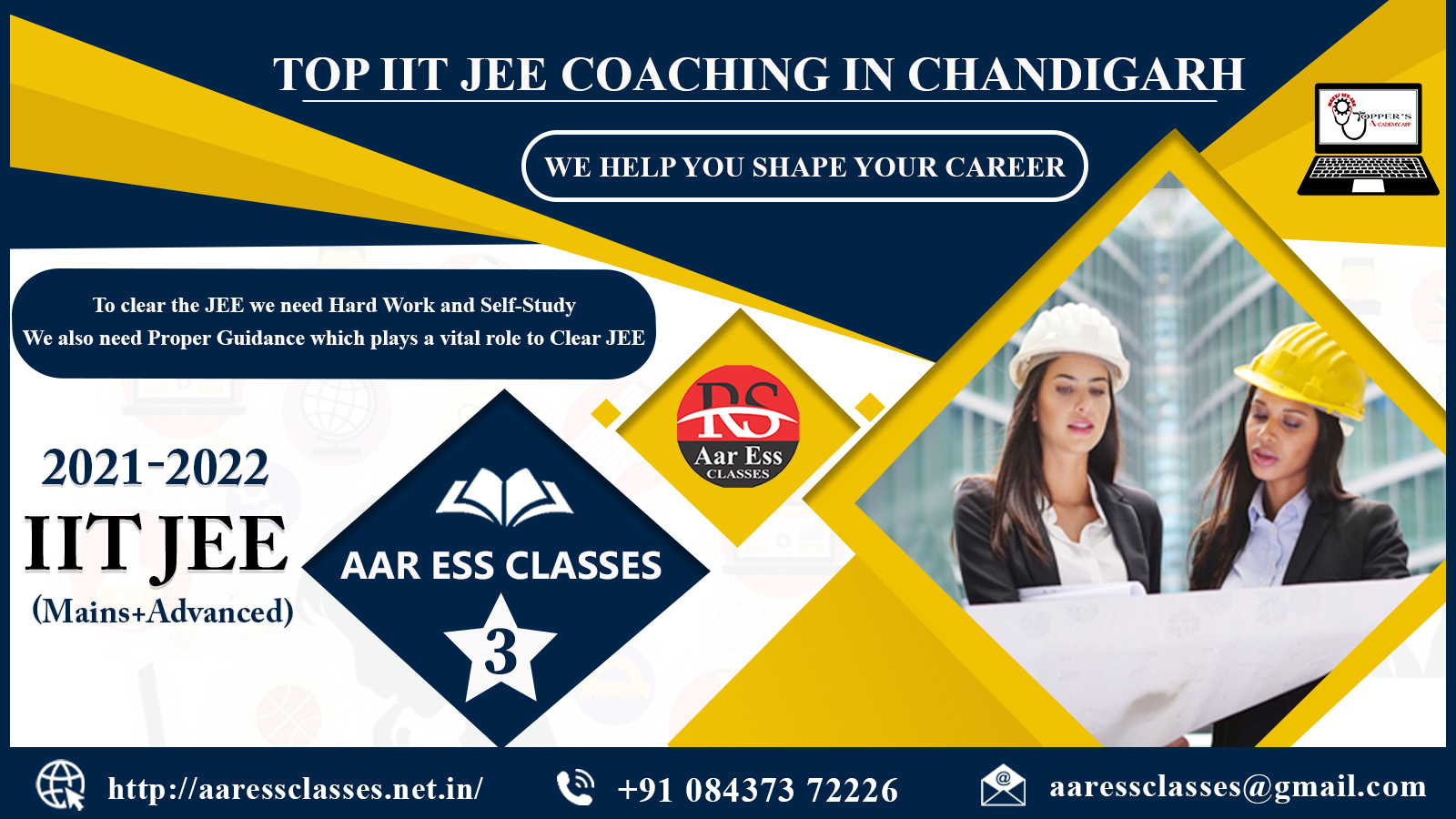 Best coaching for IIT JEE in chandigarh