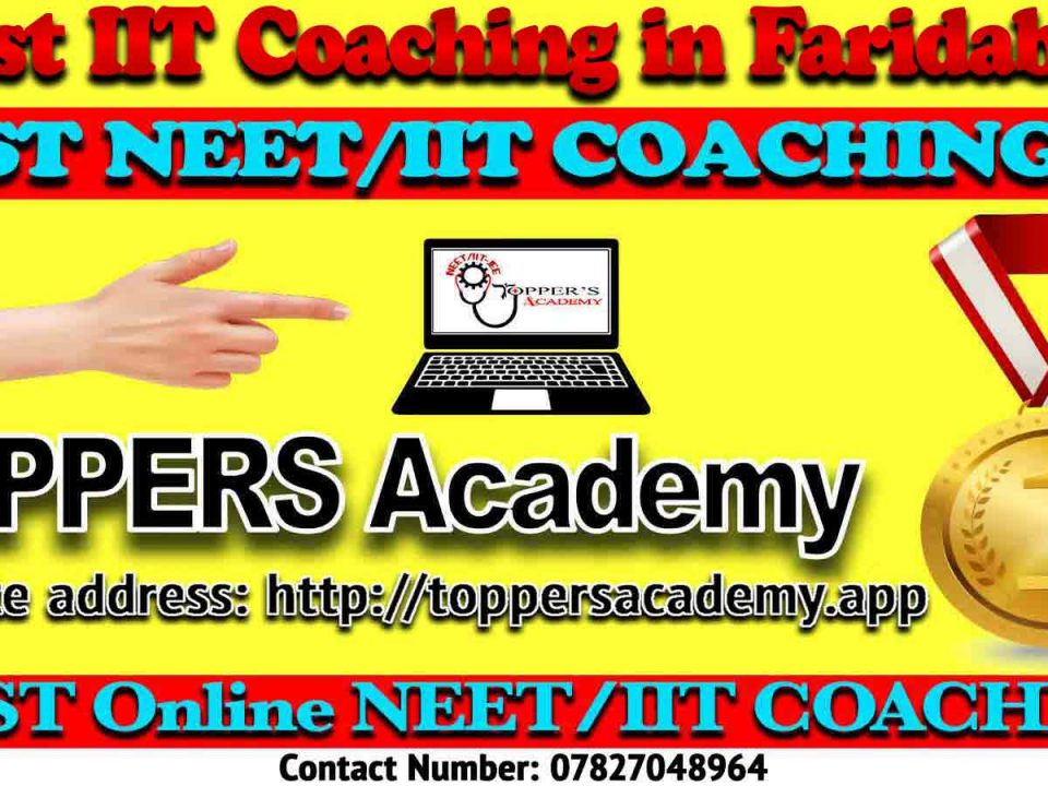Best IIT JEE Coaching in Faridabad