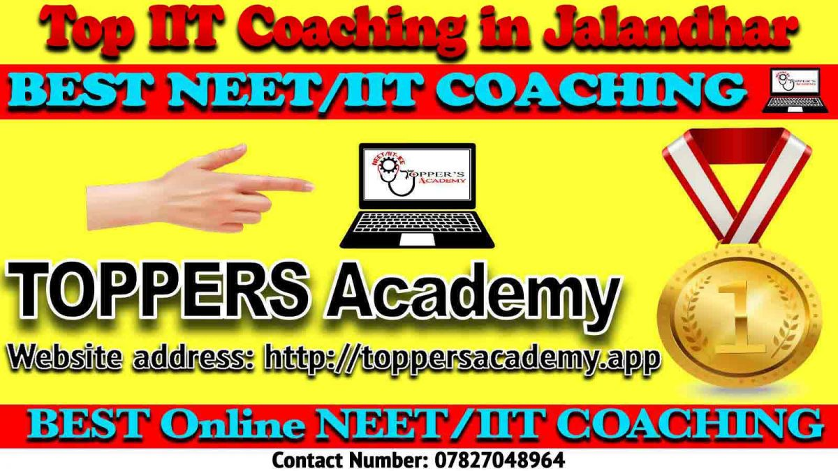 Best IIT JEE Coaching in Jalandhar