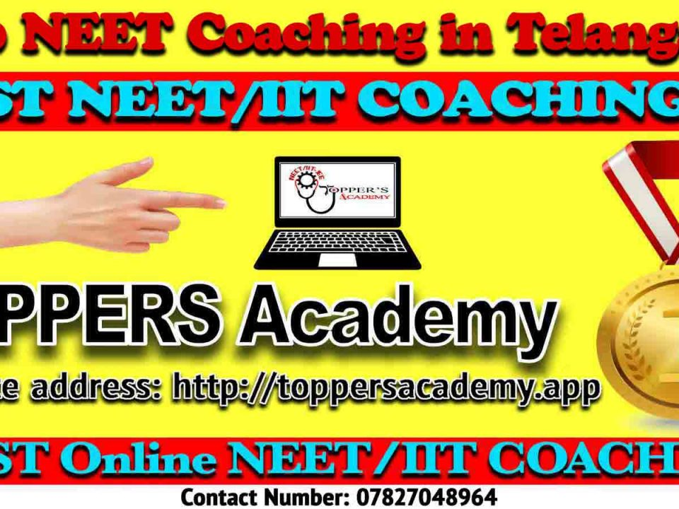 Best NEET Coaching in Telangana