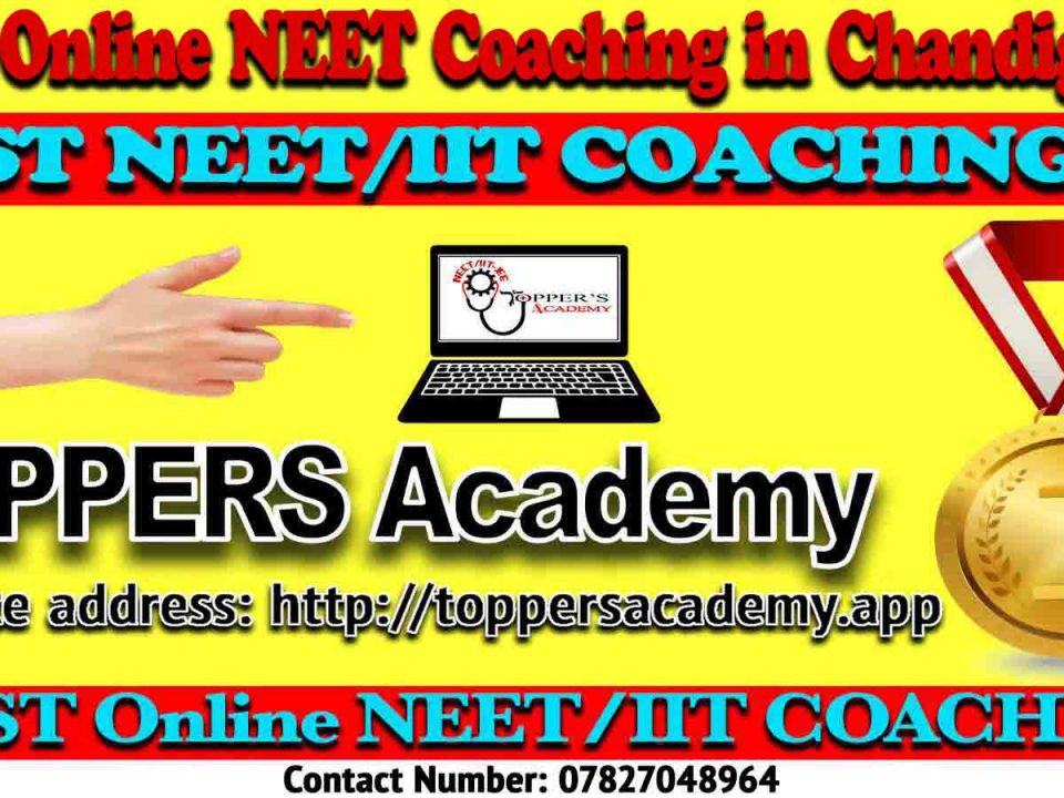 Best Online NEET Coaching in Chandigarh