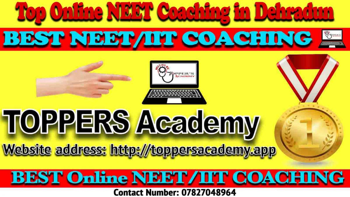 Best Online NEET Coaching in Dehradun