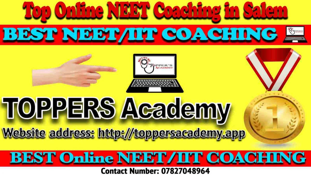 Best Online NEET Coaching in Salem