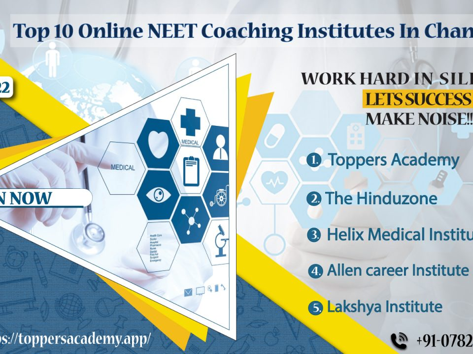 Best Online Coaching Institutes For Neet In chandigarh