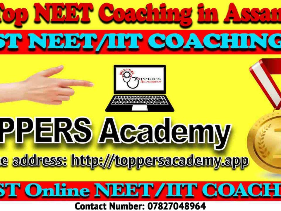 Top NEET Coaching in Assam