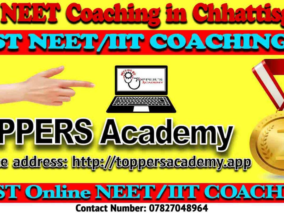 Top NEET Coaching in Chhattisgarh