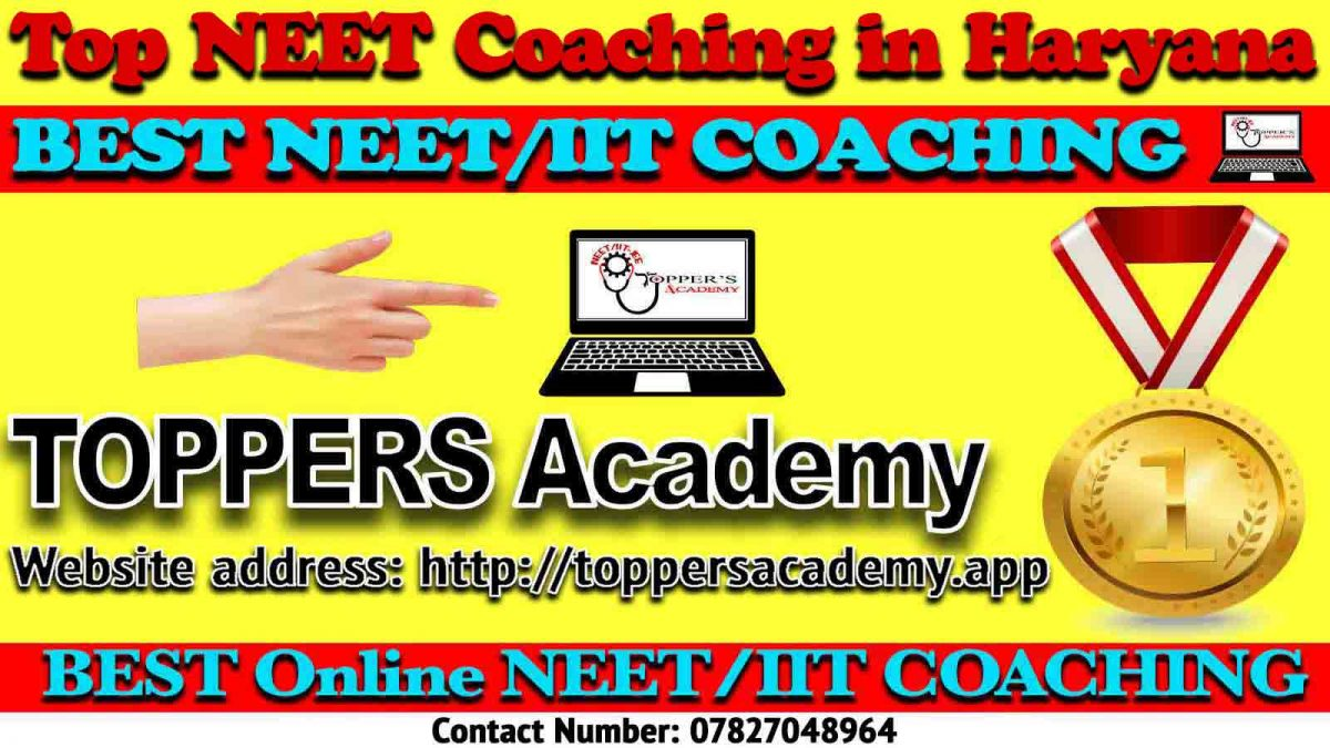 Top NEET Coaching in Haryana