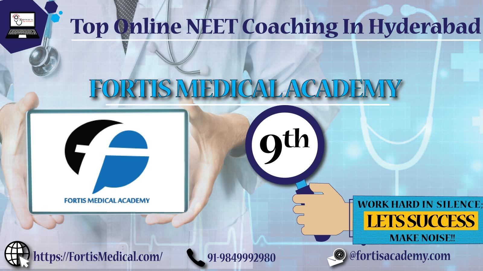 Best Online NEET Coaching In Hyderabad