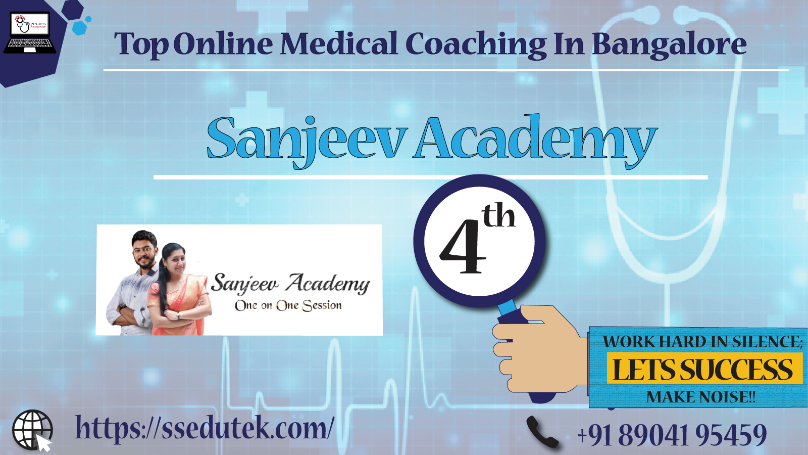 Best online Institute For Medical In Bangalore