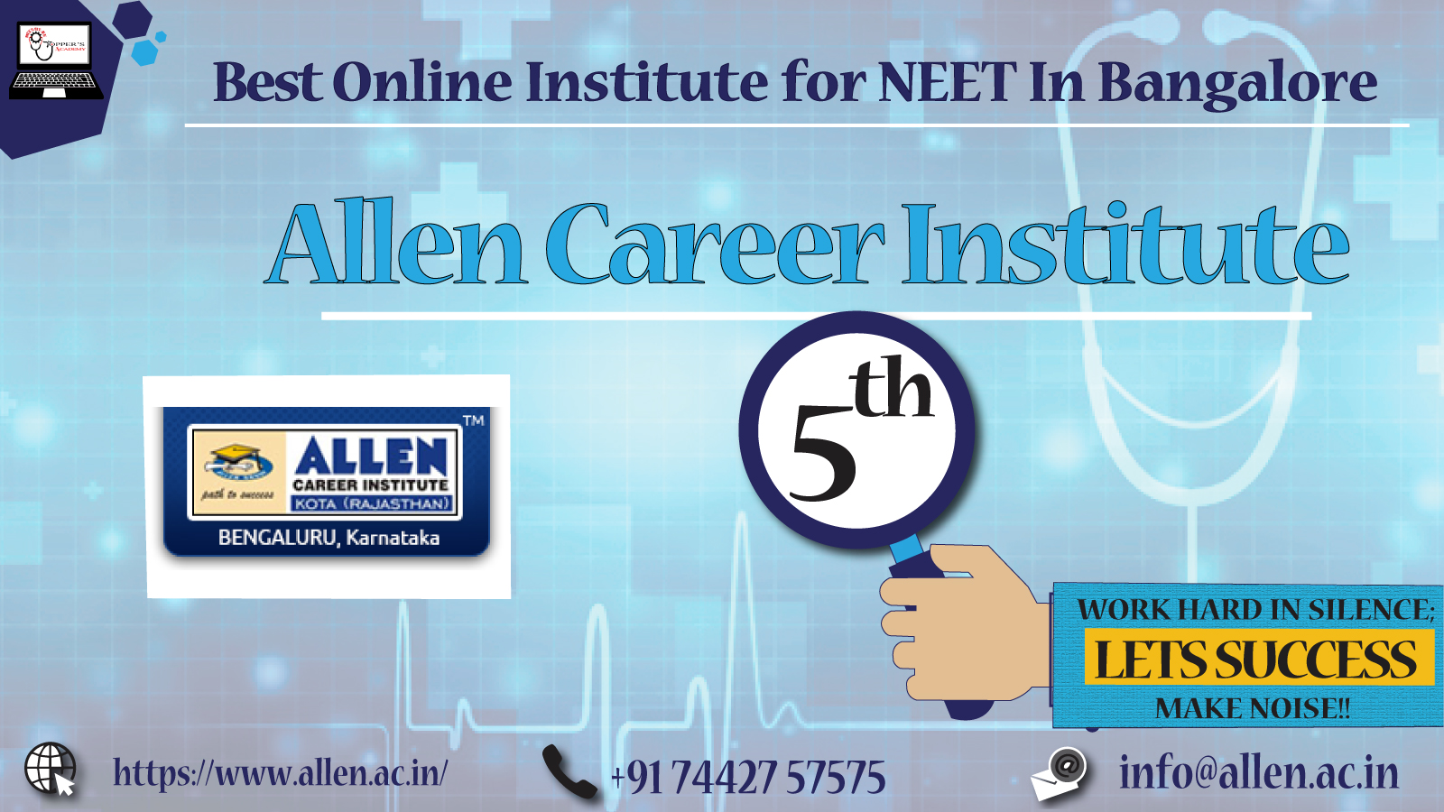 Best Institute For Medical In Bangalore