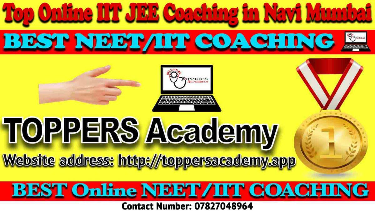 Best Online IIT JEE Coaching in Navi Mumbai