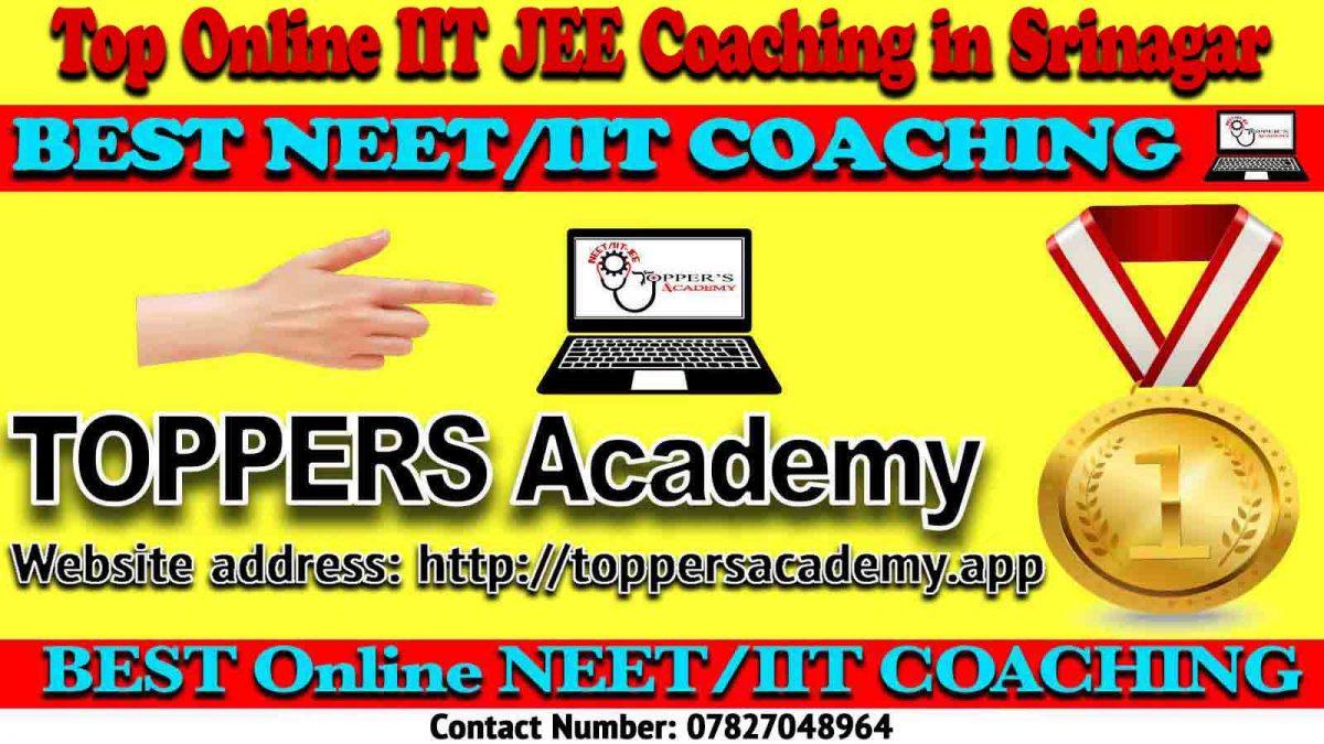 Best Online IIT JEE Coaching in Srinagar