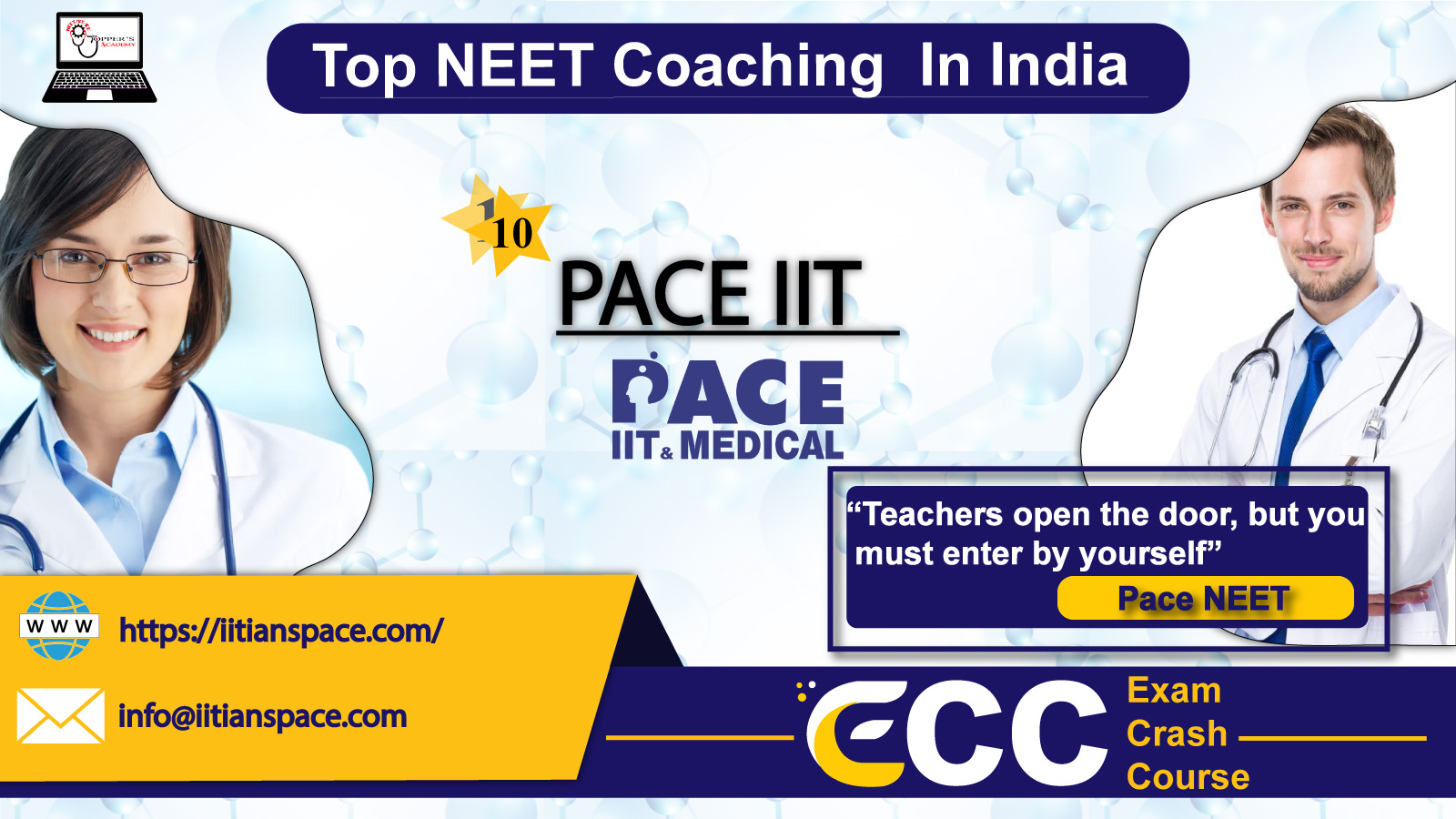 Top coaching institute for neet in india