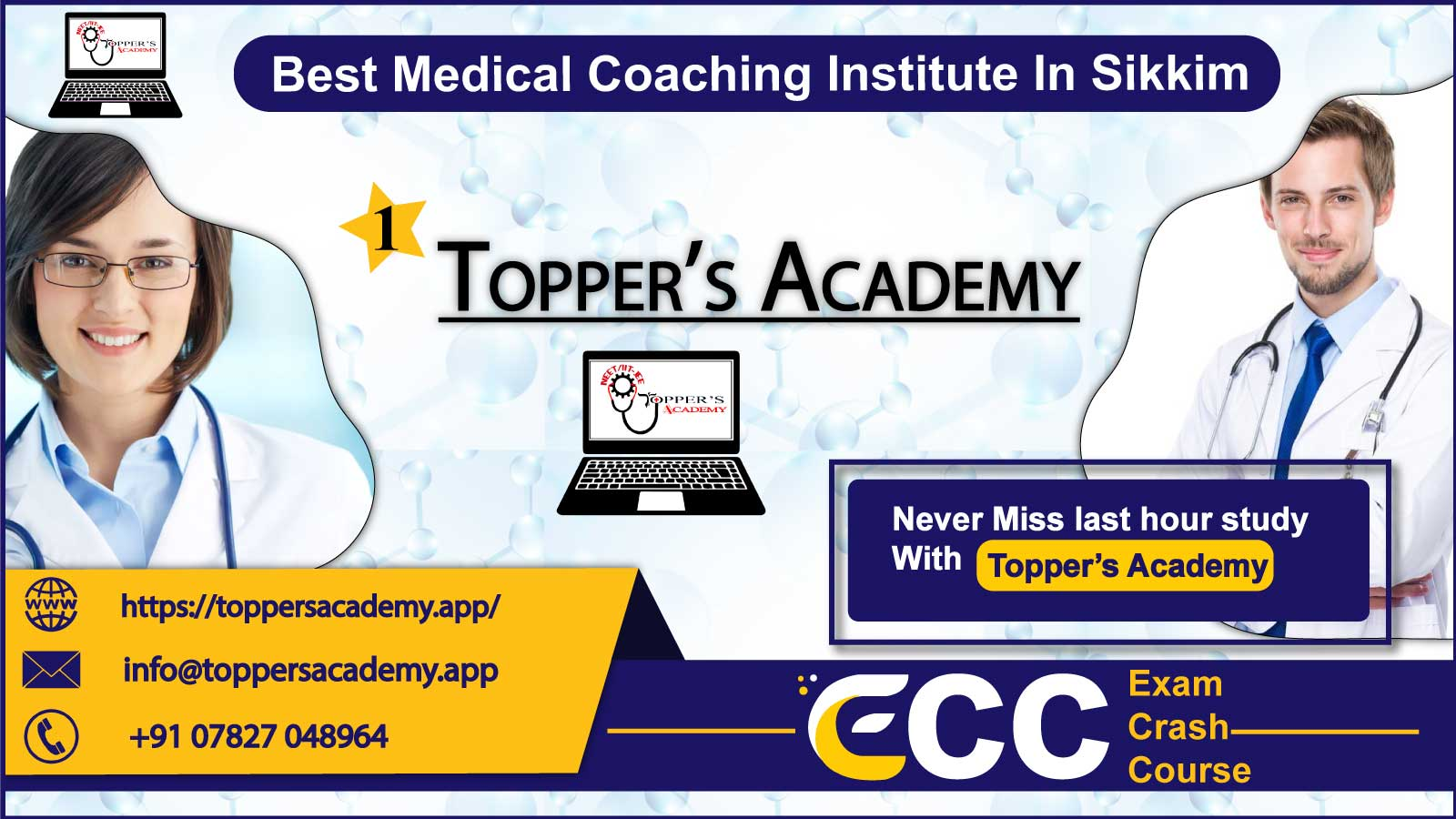 Toppers Academy NEET Coaching In Sikkim