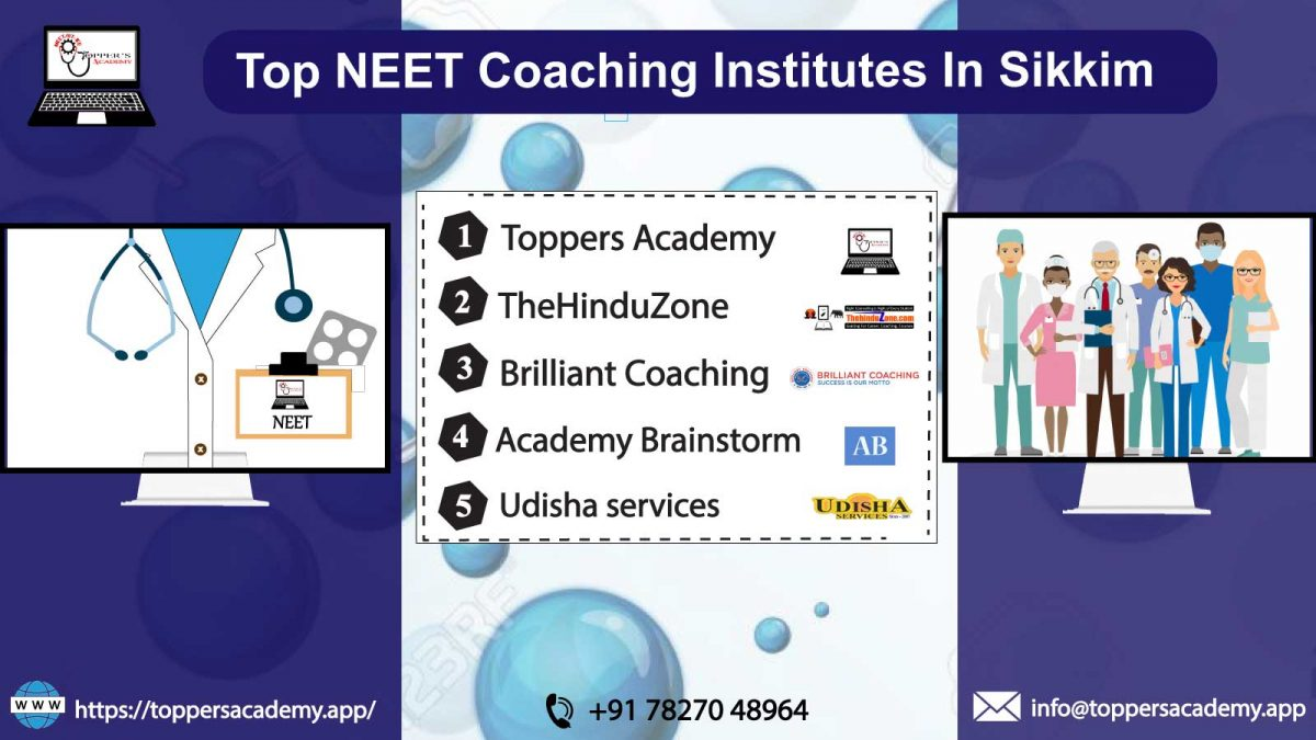 List OF The Top NEET Coaching Institutes In Sikkim
