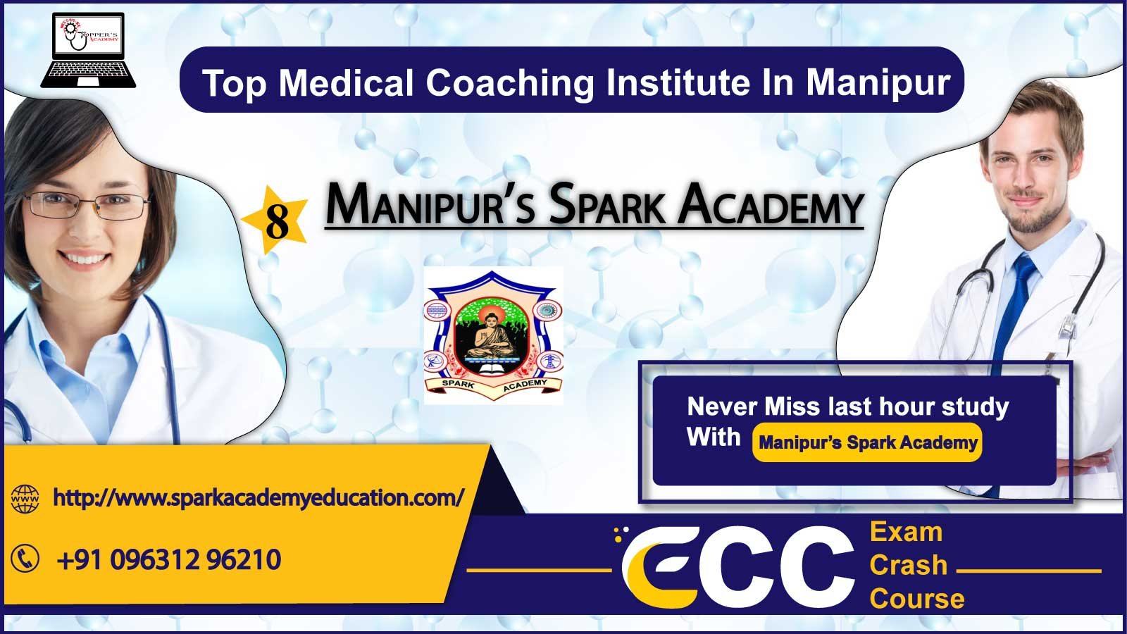 Manipur's Spark Academy NEET Coaching In Manipur